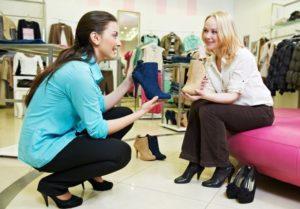 Общение с покупателем