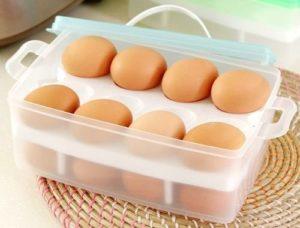 Хранение вареных яиц в холодильнике