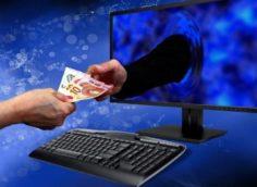 Выманивание денег через интернет