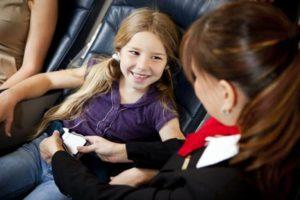 Поездка ребенка без родителей