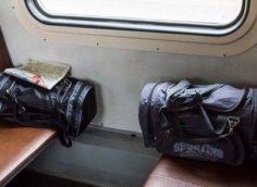 Забытые сумки в электричке