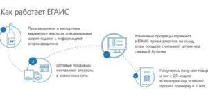 Как работает ЕГАИС (схема)
