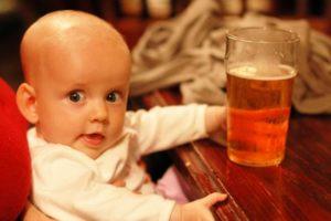 Влияние пива без градуса на детей