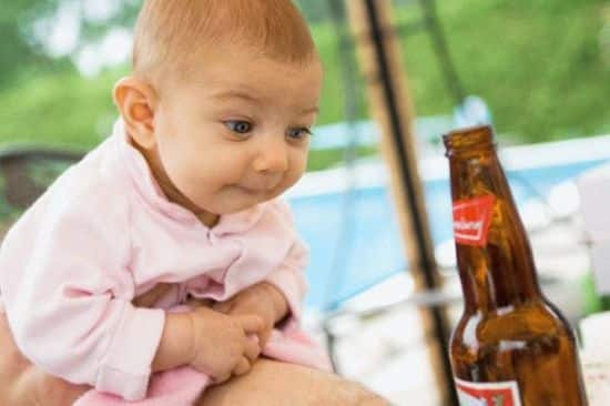 Продажа безалкогольного пива детям