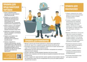 Правила для магазинов пива, пивоваров и потребителей