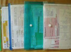 Хранение квитанций об оплате ЖКУ