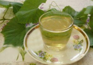 Чай из виноградного листа