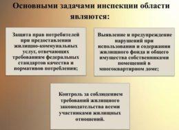 Основные задачи Госжилинспекции