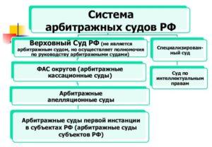 Система арбитражных судов РФ